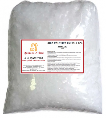 SODA CAUSTICA ESCAMAS 1KG